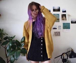 fashion, alternative, and hair image