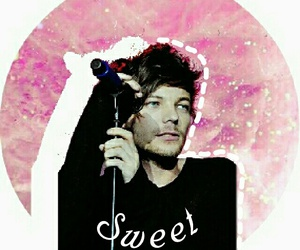 pink, louis tomlinson, and instagram image