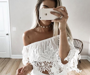 fashion, hair, and outfits image
