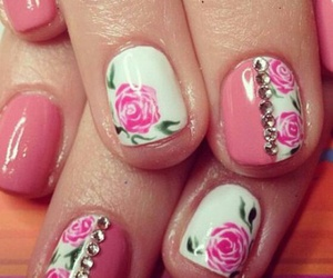 nails, fashion, and spring image
