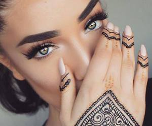 fashion, makeup, and style image