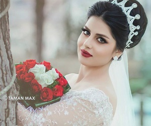 beauty, bride, and chic image