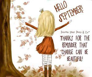 September, autumn, and beautiful image
