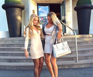 blonde, girls, and luxury image