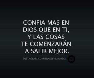 dios, confianza, and señor image