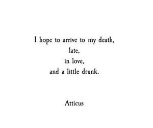 quotes, death, and atticus image