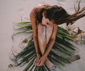 beach, photography, and style image