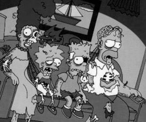 simpsons, the simpsons, and zombie image
