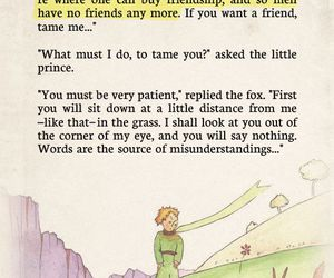 quotes, book, and the little prince image