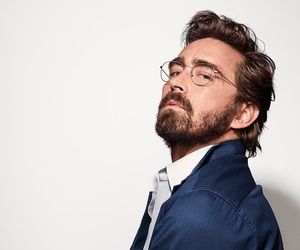 actor, beard, and glasses image