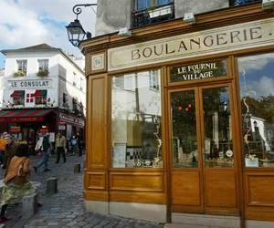 bakery, boulangerie, and france image
