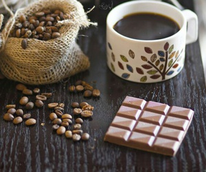 coffee, chocolate, and brown image