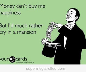 funny, money, and happiness image