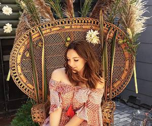 blogger, bohemian, and fashion image