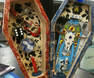 art, color, and coffin image