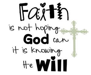 faith, god, and quote image