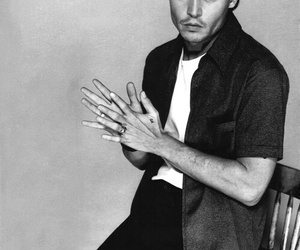 b&w, johnny depp, and youth image