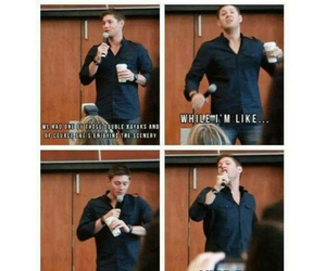 dean winchester, Jensen Ackles, and kayaking image