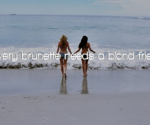girl, friends, and blond image