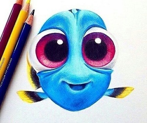 dory, drawing, and art image