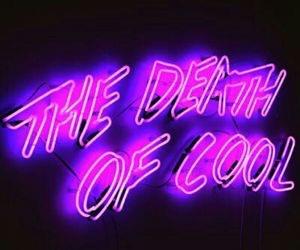 grunge, neon, and purple image