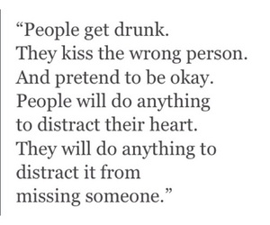 quote, drunk, and love image