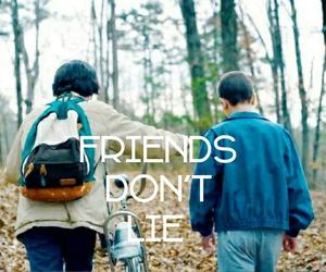 eleven, friendship, and lie image
