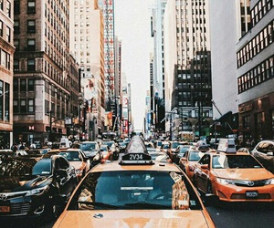 5th avenue, times square, and travel image