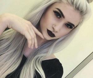 makeup, hair, and beautiful image