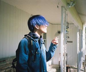 samuel seo, blue, and grunge image