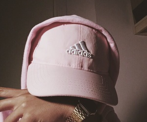 adidas, pink, and aesthetic image