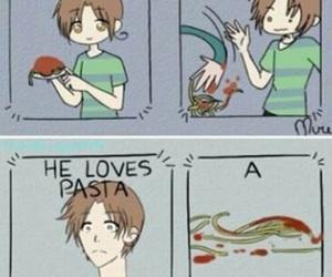 aph, hetalia, and pasta image