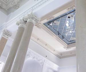 architecture, white, and blue image