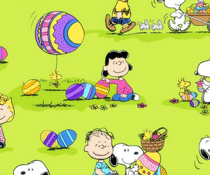 background, charlie brown, and easter image