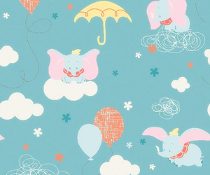 disney, dumbo, and wallpaper image