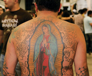 back, culture, and tattoo image