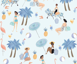 background, beach, and pattern image