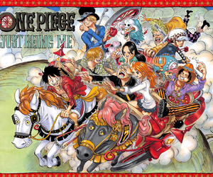 one piece, sanji, and luffy image