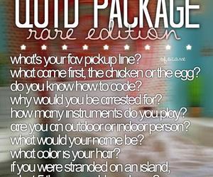 qotd packs, qotd, and instagram image