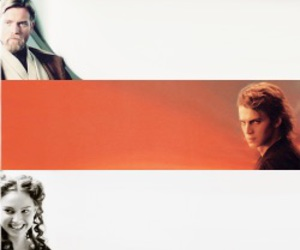 Anakin Skywalker, edit, and obi wan image