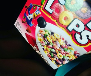 food, photography, and frootloops image