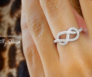 ring, infinity, and infinity ring image
