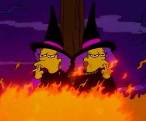 witch, cool, and cartoon image