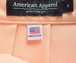 peach, aesthetic, and american apparel image