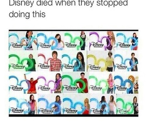 disney, funny, and disney channel image