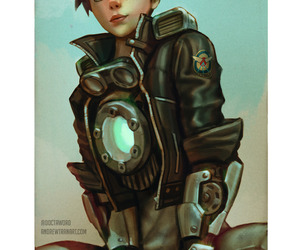 tracer, overwatch, and blizzard image