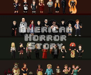asylum, coven, and ahs image