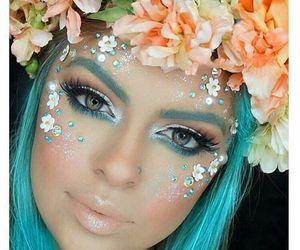 makeup and Halloween image