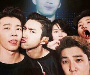 super junior, donghae, and kangin image