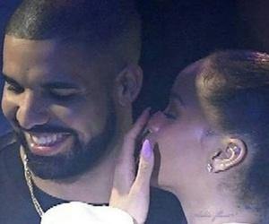 Drake, rihanna, and riri image